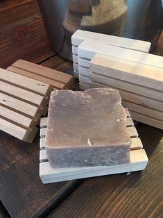 Porte-savon en bois fait à la main | Etsy