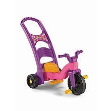 Fisher Price Rock Roll 'n Ride Tricycle - Girls by Fisher-Price. $71.98. The Fisher Price Rock Roll 'n Ride Trike starts as a stationary rocker, with a flip of the rocker base. It converts to a trike with a parent-assist handle, and then by removing the base it converts again to a stand alone trike. Since 1930, Fisher-Price has been in business to create toys that fascinate and stimulate a child's imagination. Fisher-Price was founded in 1930, hardly the best time to...