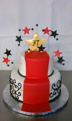 Hollywood Theme Birthday Cake Flickr Photo Sharing