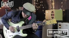 RJ Ronquillo tries out the latest - and we should probably say the best - Sidejack model yet. the Sidejack Pro DLX! More Mosrite than ever. Eastwood Guitars, Music Instruments, Videos, Style, Swag, Musical Instruments, Video Clip