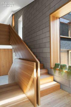 Moussafir Architectes, Paris house - Larch staircase