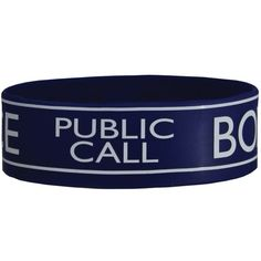 Police Box Doctor Who Wristband (5.52 CAD) ❤ liked on Polyvore featuring jewelry, bracelets, doctor who, lullabies and police jewelry