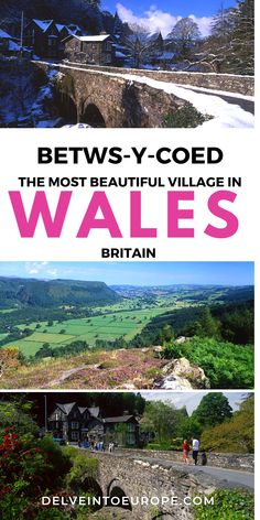 Lovely Betws-y-Coed is the gateway to Snowdonia and a great base for exploring North Wales. Discover all the great things to do in Betws-y-Coed here. Europe Europe, Places In Europe, Europe Travel Guide, Places To Travel, Travel Tips, Travel Guides, Traveling Europe, Travel Hacks, Travel Destinations