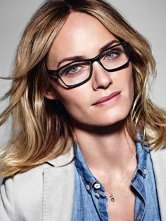 Smart looking Amber Valletta for the Marc O´Polo Spring/Summer 2014 Eyewear campaign #followyournature #casual