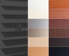 """Only the finest American basswood goes in to our collection of 2"""" Basic Wood Blinds. Now available in 12 stunning finishes!    Get your hands on some samples here: http://www.theshadestore.com/sample-department/wood-blinds/    #HomeDecor #InteriorDesign #Style"""