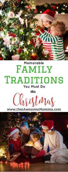 Are you looking for fun and memorable Christmas traditions to do with your family? Your family will surely have a lot of memories worth looking back on for years to come with these fun Christmas activities.