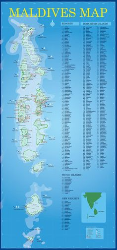 Maldives Map I cant wait to visit the Maldives one day Books