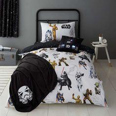 Disney Star Wars Glow in the Dark Duvet Cover and Pillowcase Set | Dunelm