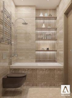 Bathroom travertine/ beige brown bathroom/ glam lux bath/ brown toilet/ classic bathroom/ Дизайн санузла. Травертин. Бежевый санузел. Туалет.