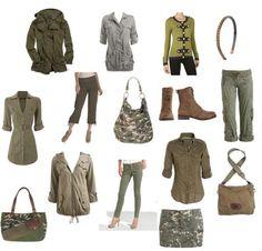 maxi vestidos en camuflaje militar - Buscar con Google