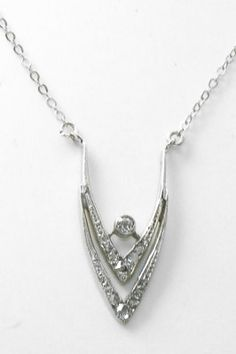 Mappin and Webb diamond white gold necklace » Mappin and Webb necklace