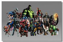 Personalizado Marvel VS Capcom Movie Poster Modern moda decoração de casa elegante Retro quarto de alta qualidade ( 20 x 30 ) adesivo de parede U1-447 //Price: $US $10.79 & FREE Shipping //    #capitainamerica #capitãoamerica #marvel #avenger
