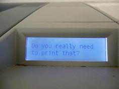 printers, now available with attitude