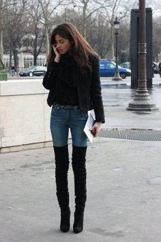 tight high boots barbara martelo vogue espana