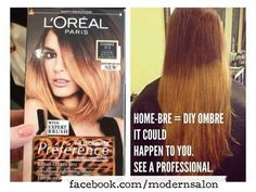 Dyi ombre....Just DON'T do it