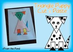 triangle art projects for preschoolers - Google Search