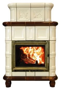 klasyczny piec kominek kaflowy t54 Modern Fence, Keeping Room, Wood Stoves, Home Appliances, Norfolk, Home Decor, Stoves, Fire Places, Cooking