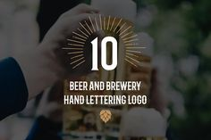 Beer and brewery logo set by Letters-Shmetters on @creativemarket