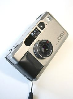 CONTAX T2, 1990. Mine now.