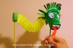 Marioneta de dragon chino