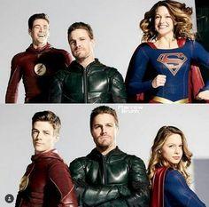 Superhero Shows, Superhero Memes, Flash E Supergirl, The Flash Grant Gustin, Dc World, Cw Dc, Dc Tv Shows, Cw Series, Dc Legends Of Tomorrow