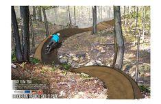 Rockburn Branch Bike Skills Park | IMBA Mtb Trails, Mountain Bike Trails, Dirt Bike Track, Moutain Bike, Winter Project, Bike Parking, Bike Rider, Parking Design, Garden Bridge