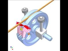 Wire-cutting mechanism 3 - YouTube