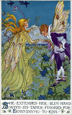 "Art by Alice B. Preston (1924) - ""Valley of Color Days."""