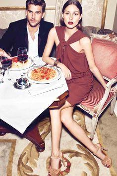 Olivia Palermo And Johannes Huebl Star In Mango's New Winter Catalogue