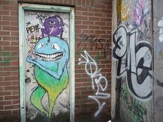 Graffiti, Toronto.