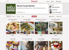 Whole Foods Market Pinterest Page