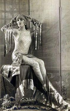 Art Deco Decadence vintage photo