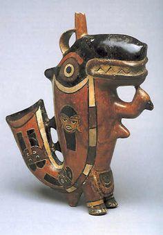 Nazca culture - Wikipedia, the free encyclopedia-Killer Whale, Nazca Culture, pottery, Larco Museum. Lima, Perú