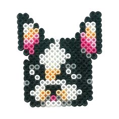 French Bulldog perler beads