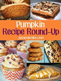Pumpkin Scones with Pumpkin Maple Glaze - Java Cupcake