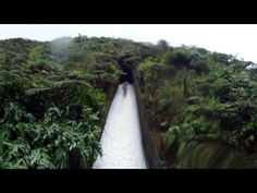 The world's coolest flume water slide is hidden in an American jungle paradise | Stories | Roadtrippers