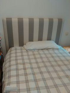 cabecero de cama con tela de lino y algodn deco homedesign