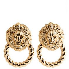 Melody Ehsani The Queen Of The Jungle Doorknocker Earrings
