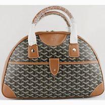 Mini Bowler Bag Black with Khaki Goyard St Louis Tote, Goyard Tote Bag, Tote Bags, Wholesale Designer Handbags, Bags Online Shopping, Glamour, Travel Bags, Louis Vuitton Damier, Women's Handbags