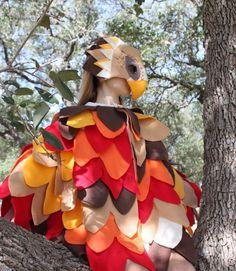 Child's Hawk or Eagle Costume by abbysatticsatx on Etsy