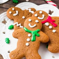 These soft gingerbread cookies are a must for the holidays. They're perfectly spiced with soft centers and the perfect gingerbread taste. The best gingerbread men I've ever tried! Best Gingerbread Cookies, Christmas Cookies, Gingerbread Men, Christmas Baking, Christmas Ideas, Merry Christmas, Xmas, Coconut Cookies, Shortbread Cookies