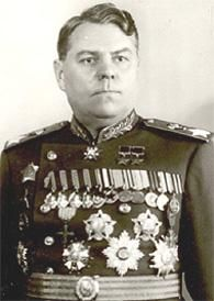 Aleksandr Vasilevski, de toenmalige generaal onder wiens leiding Koningsbergen door de Russen werd ingenomen.
