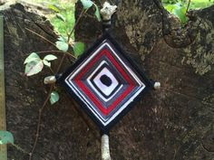 Hey, I found this really awesome Etsy listing at https://www.etsy.com/listing/479578361/red-black-ojo-de-dios-gods-eye