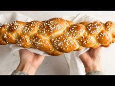 Backen mit Christina: Brioche-Striezel - YouTube Hot Dog Buns, Hot Dogs, Pretzel Bites, Sweets, Bread, Breakfast, Recipes, Food, Kitchen