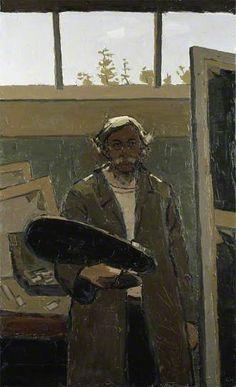 Self Portrait Kyffin Williams (Welch, 1918-2006)