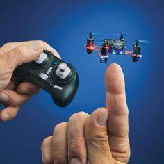 Nano Quad Micro Quadcopter - world's smallest RC drone.