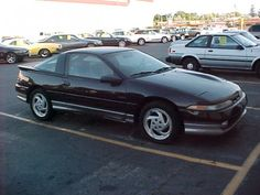 1991 Eagle Talon, my first car back in 2000 from my Daddy! Straight from the police auction for $1,500! #RIPNightrider