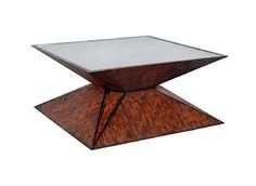 Quatrain Prism Square Cocktail Table by Artistica Home Furnishings