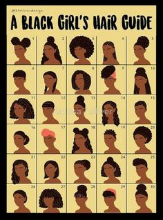This black girl´s hair guide can be very useful. Lots of tips and information f… This black girl´s hair guide can be very useful. Lots of tips and information for beautiful African American hair. - Station Of Colored Hairs Natural Hair Tips, Natural Hair Journey, Natural Hair Hairstyles, Natural Hair Regimen, 4a Hairstyles, Cornrows Natural Hair, Natural Hair Puff, Natural Hair Tutorials, Gorgeous Hairstyles