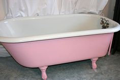 pink shade option or my tub (with 2 or 3 shades lighter on walls)